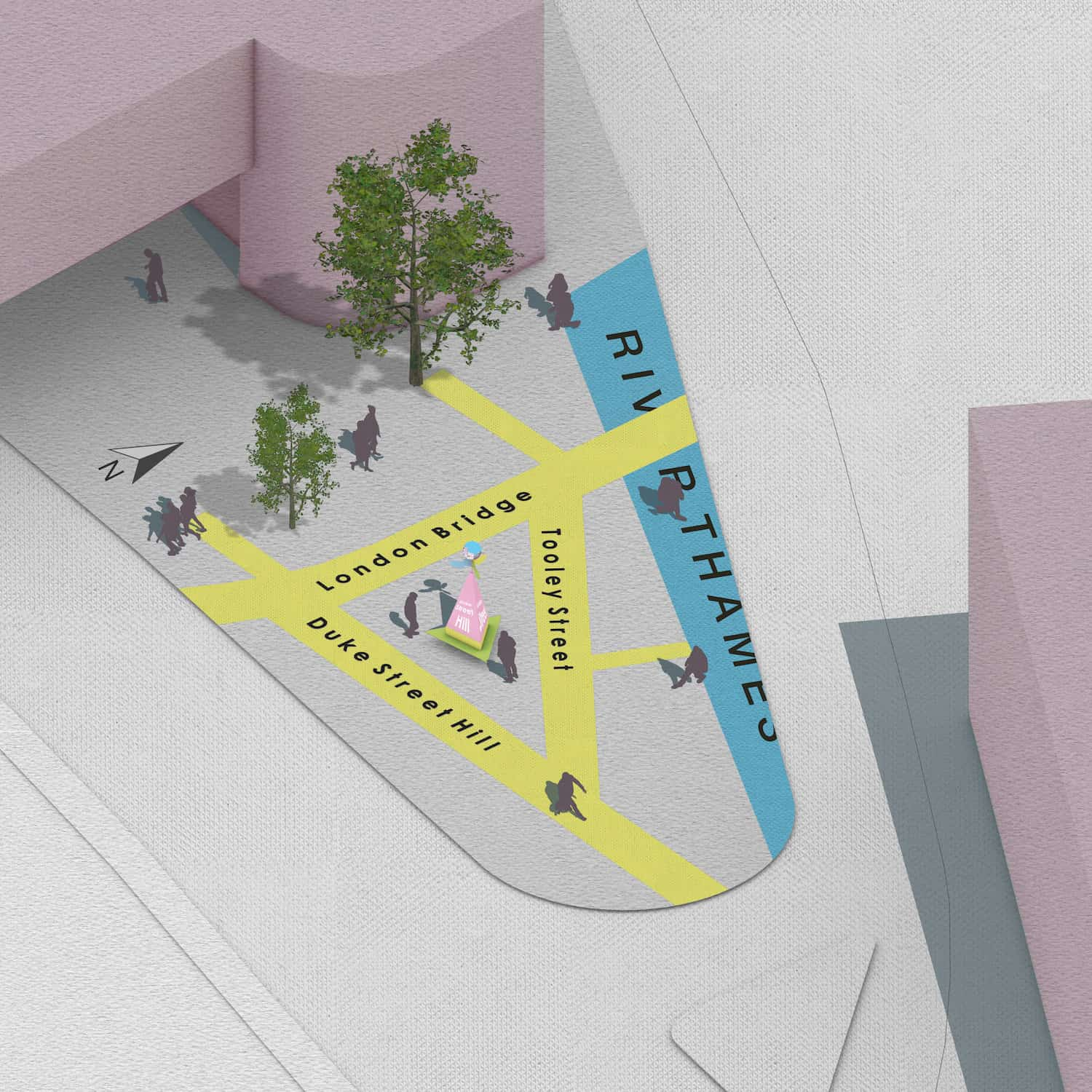 Charles Holland Architects win London Bridge public realm competition