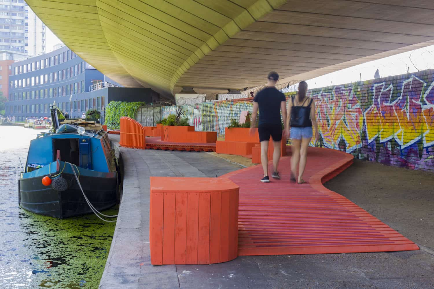 Co-Mooring brings the Grand Union Canal to life for the London Festival of Architecture