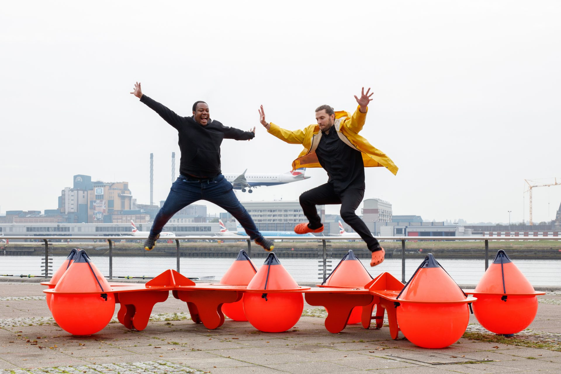 LFA and Royal Docks Team reveal new series of waterside benches