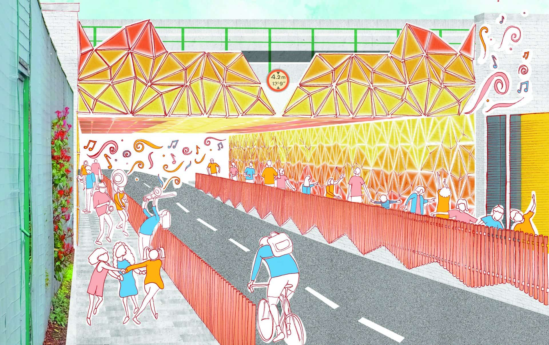 Shortlisted designs revealed for London Festival of Architecture and Wandsworth Council Thessaly Road competition