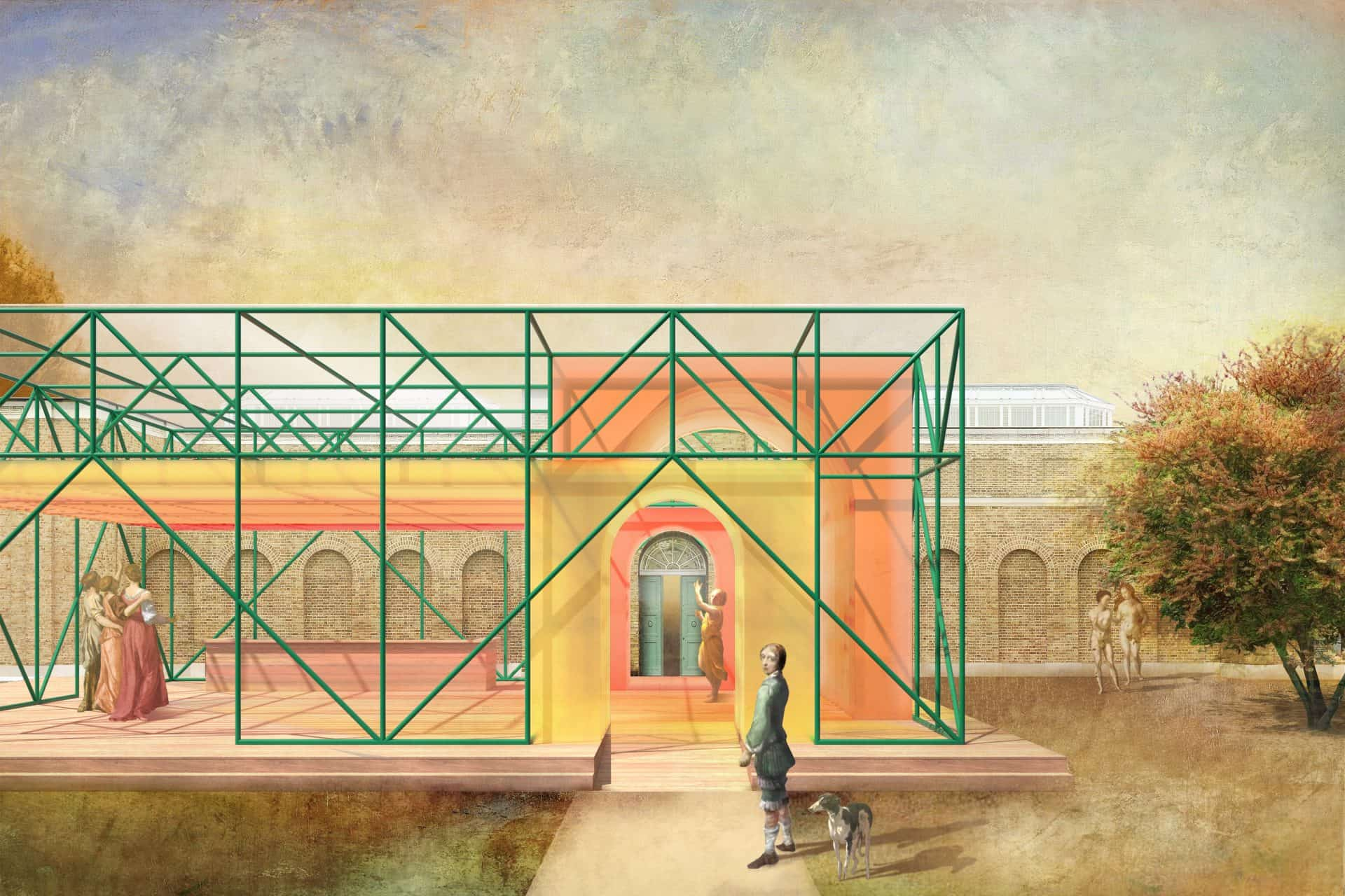 LFA and Dulwich Picture Gallery reveal Dulwich Pavilion shortlisted designs