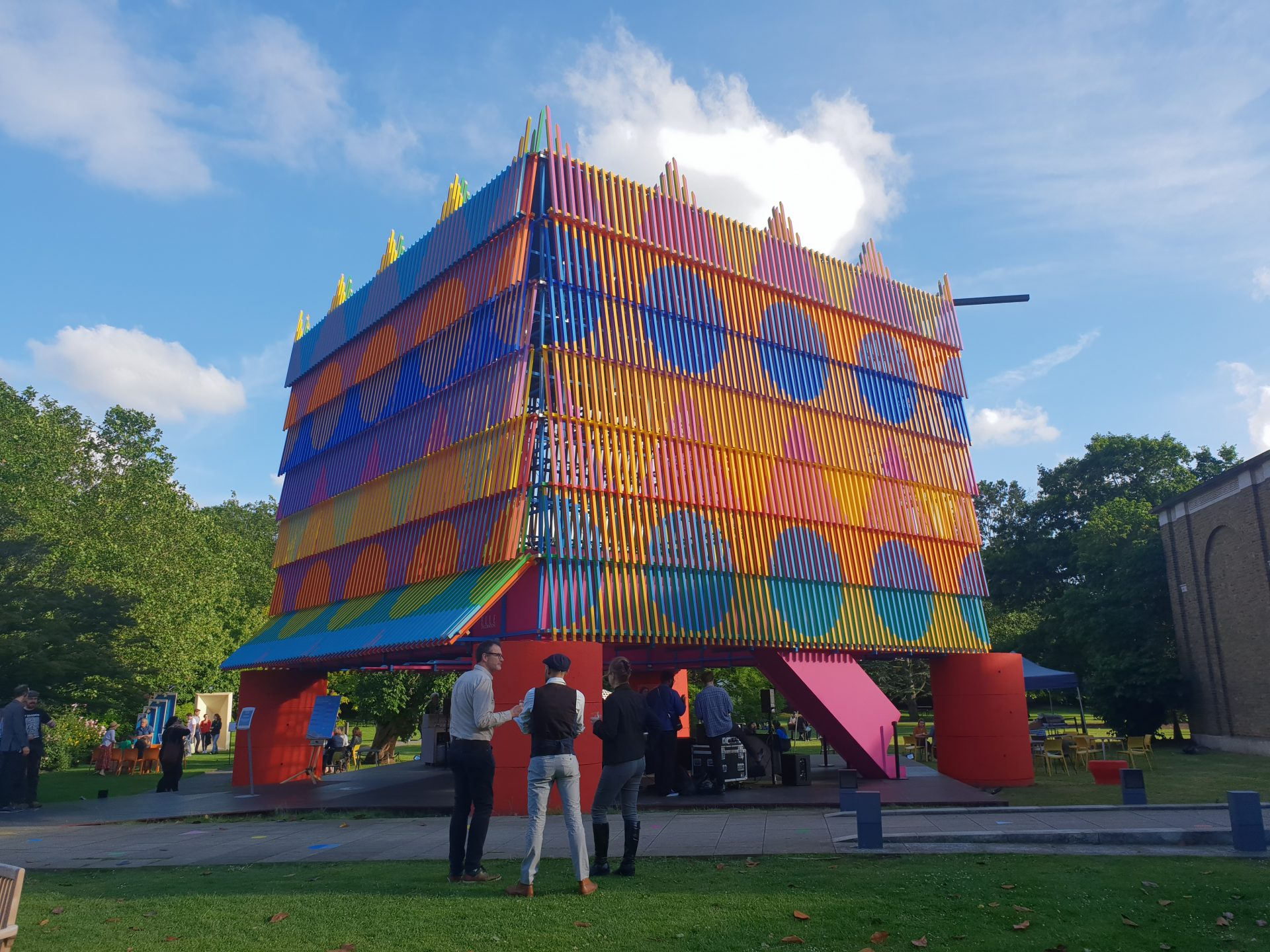 For the love of colour – Visiting Yinka Ilori and Pricegore's 'The Colour Palace'