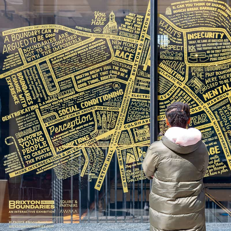 Brixton Boundaries, a community project by Squire & Partners and AWMA