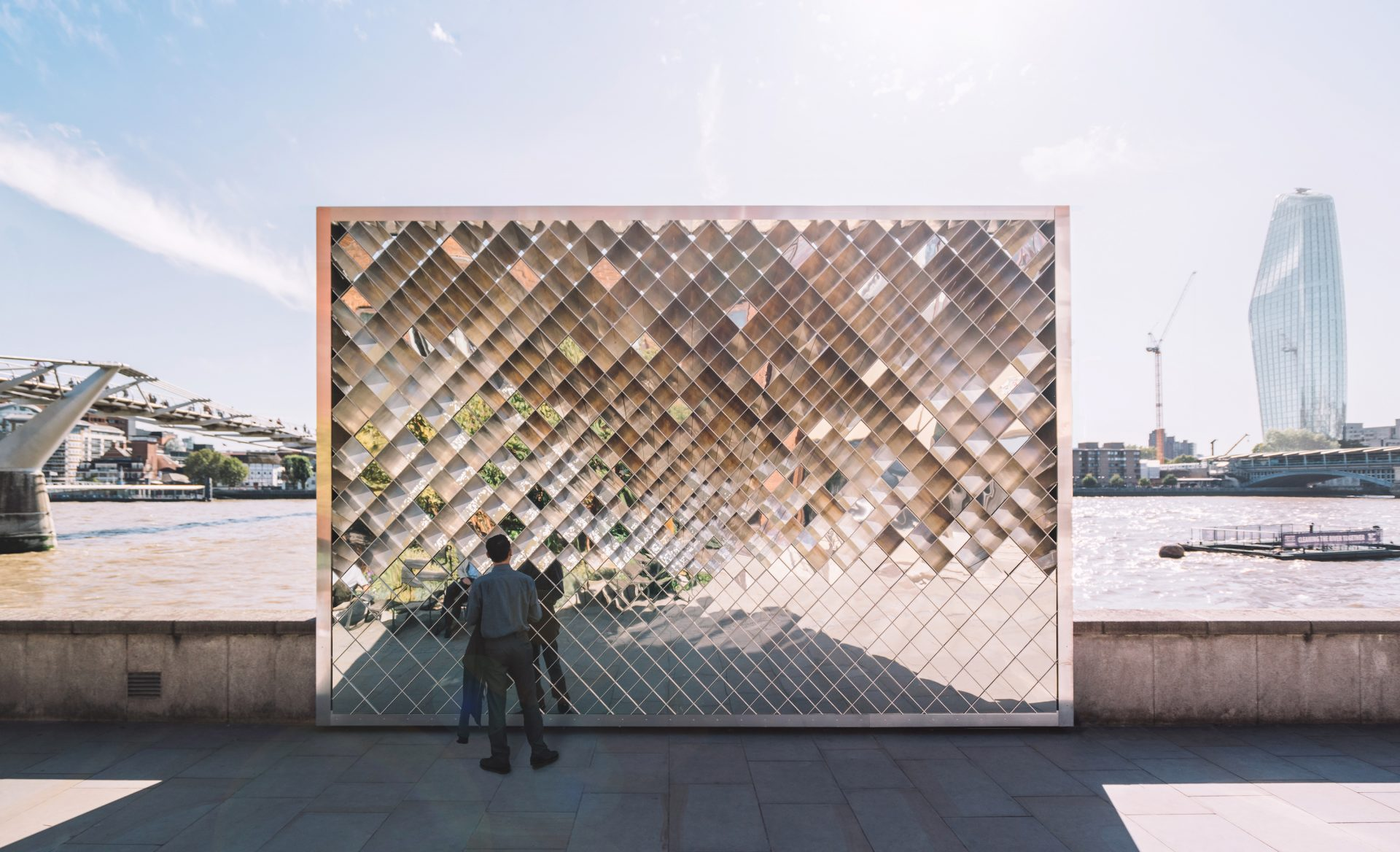 LFA and City of London Corporation reveal Wolfgang Buttress' winning 'Liminal' installation