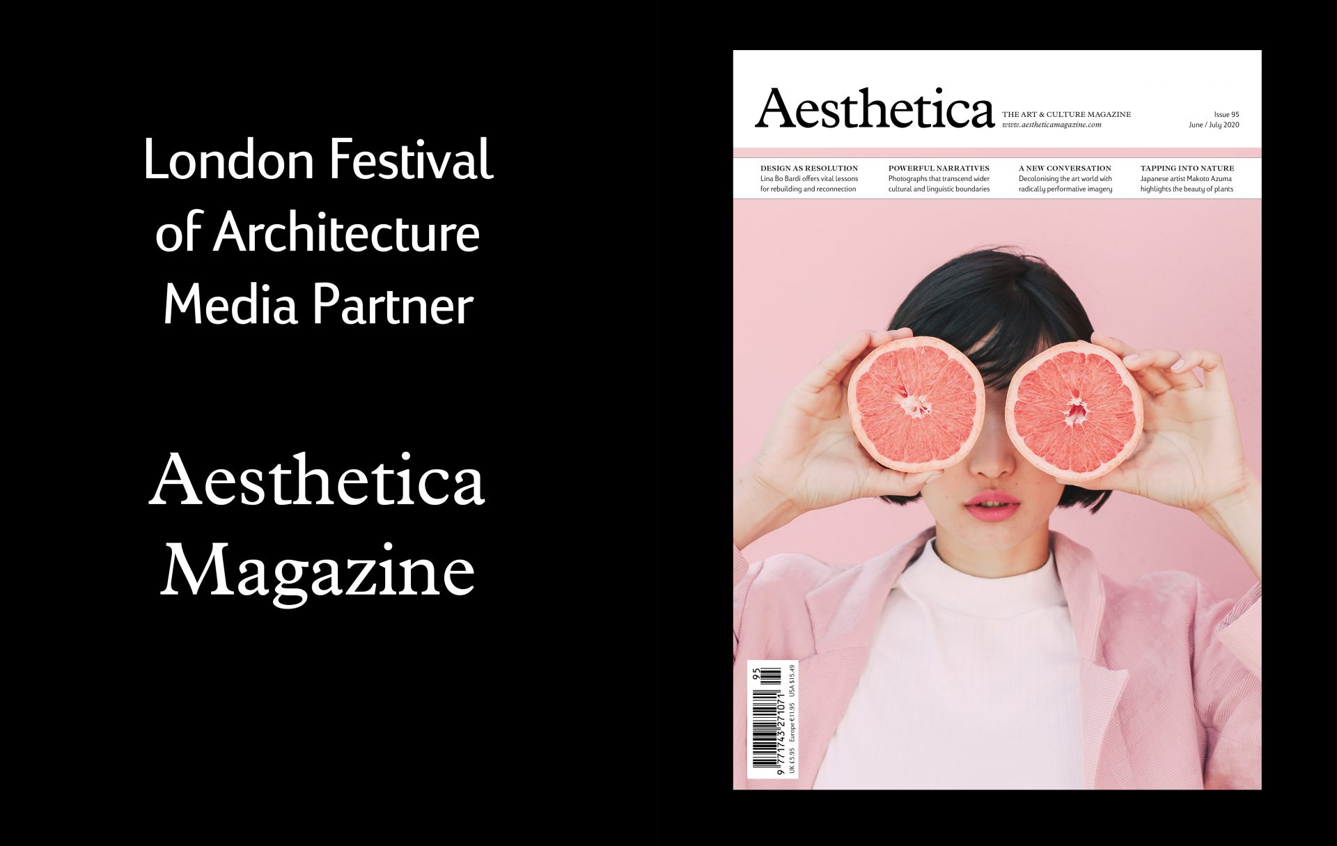 Discover the latest from the world of architecture & design with Aesthetica