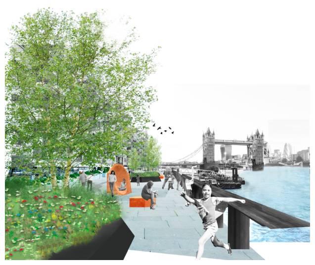 Reimagining Butler's Wharf: The virtual exhibition