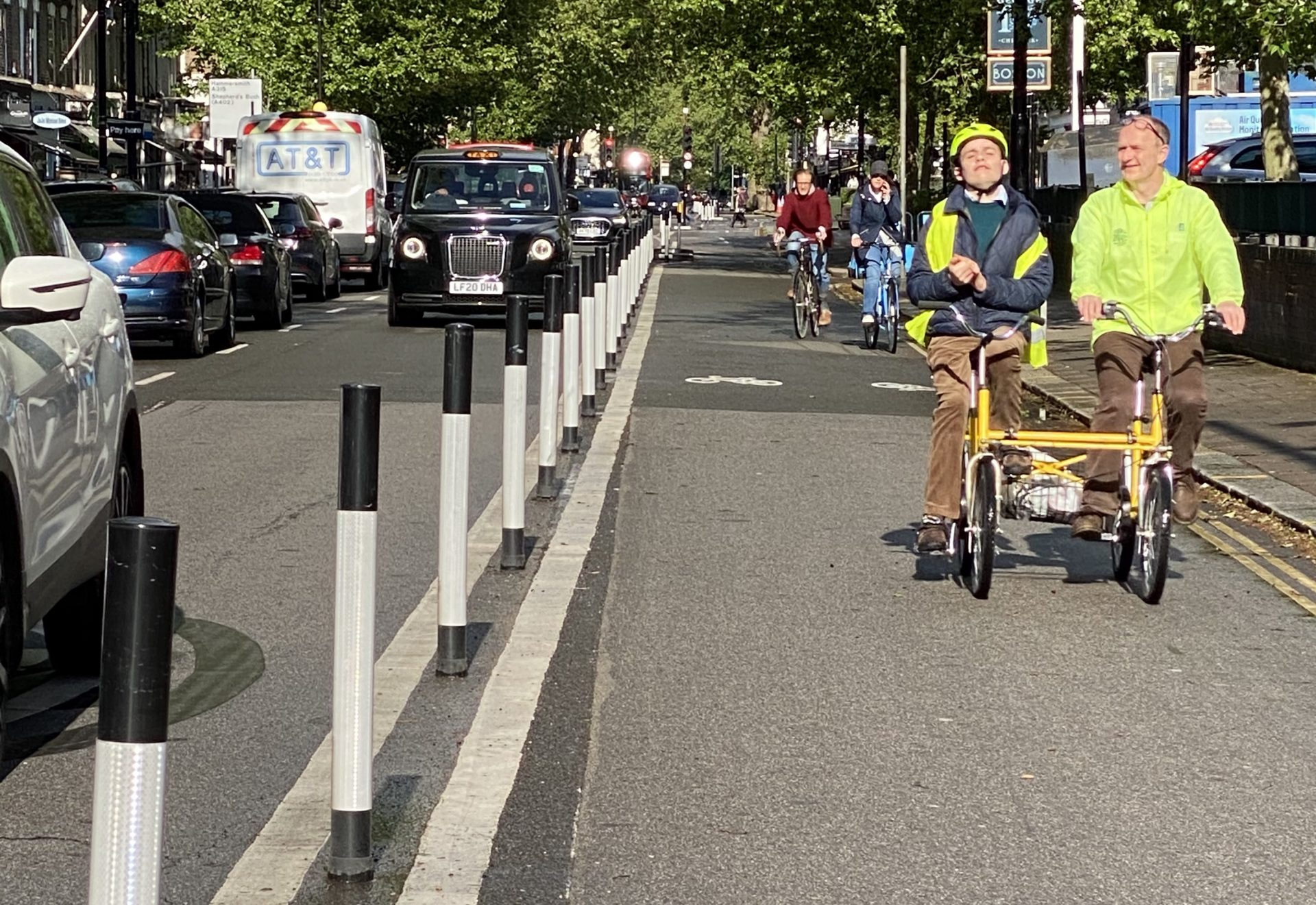Caring for cyclists, caring for streets