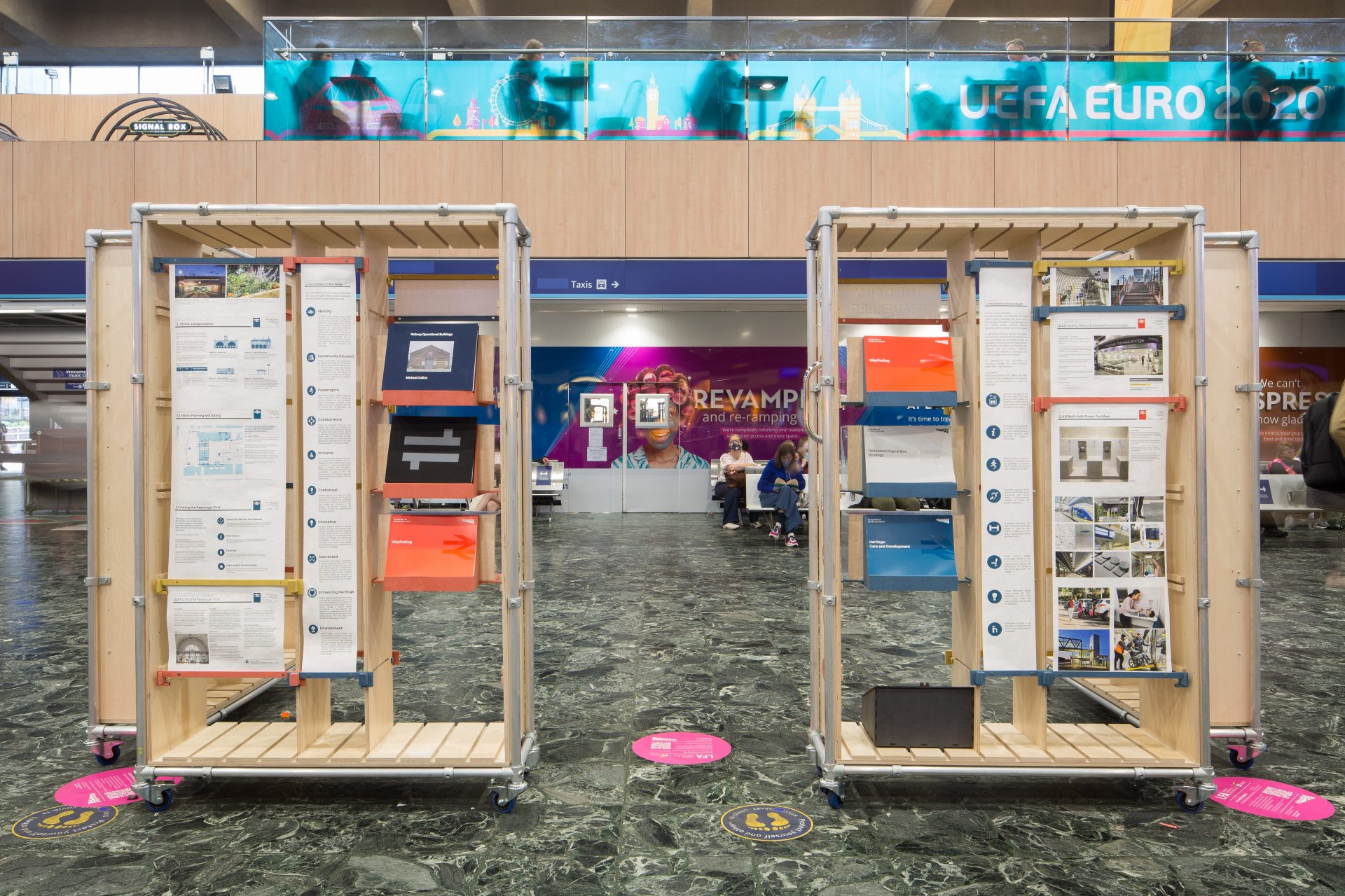 Curating Concourses: Installation Revealed