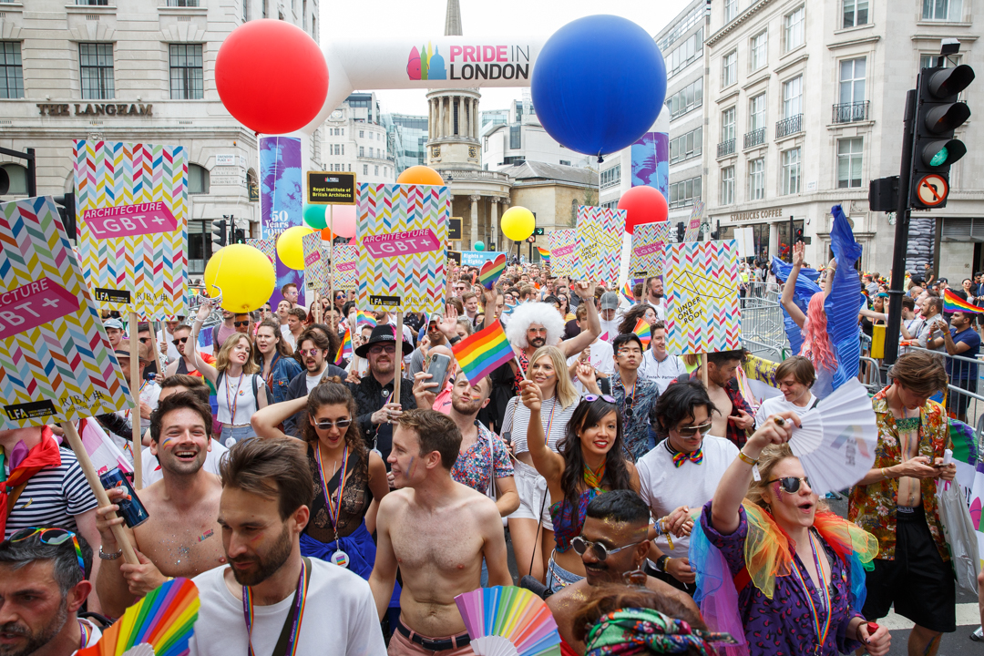 London Festival of Architecture and Architecture LGBT+ launch Pride Pop Up competition